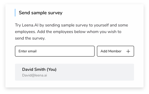 Sample employee engagement survey
